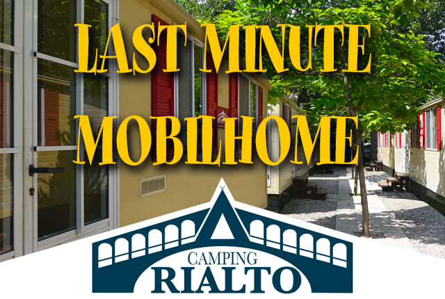 LAST MINUTE MOBILHOME!