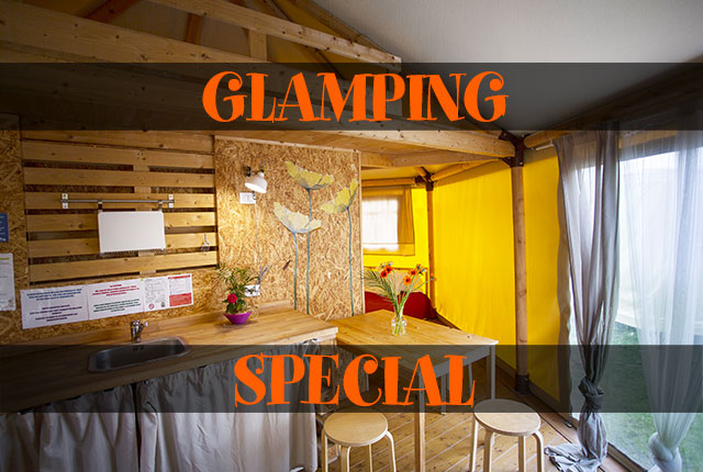 SPECIAL GLAMPING BUNGALOW TENT 4 PERSONS