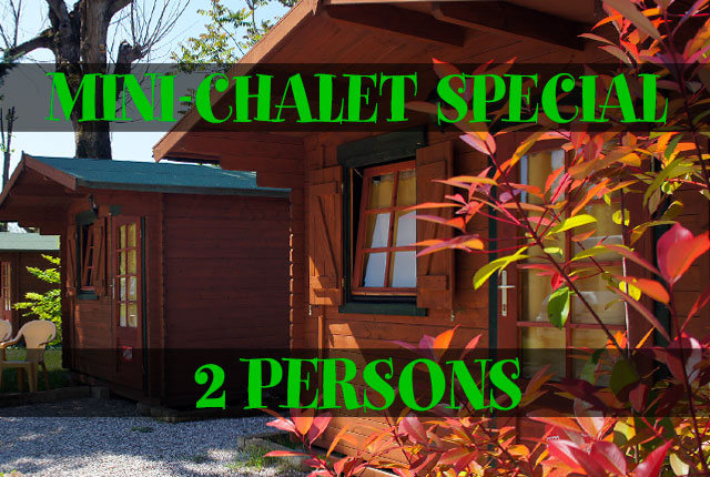SPECIAL MINI-CHALET 2 PERSONS