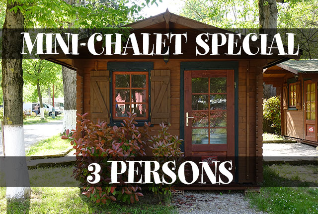 SPECIAL MINI-CHALET 3 PERSONS